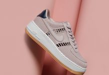 Nike Air Force 1 Upstep Particle Rose
