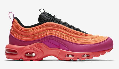 bcfe4c31d83a Nike Air Max 97 Plus Color  Racer Pink Hyper Magenta-Total Crimson-Black  Style Code  AH8144-600. Release Date  May 10