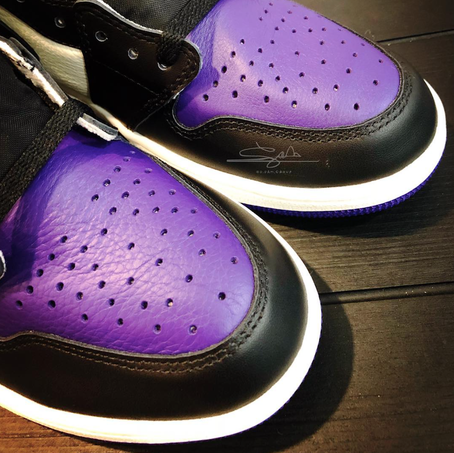 Air Jordan 1 Purple Toe Release Date