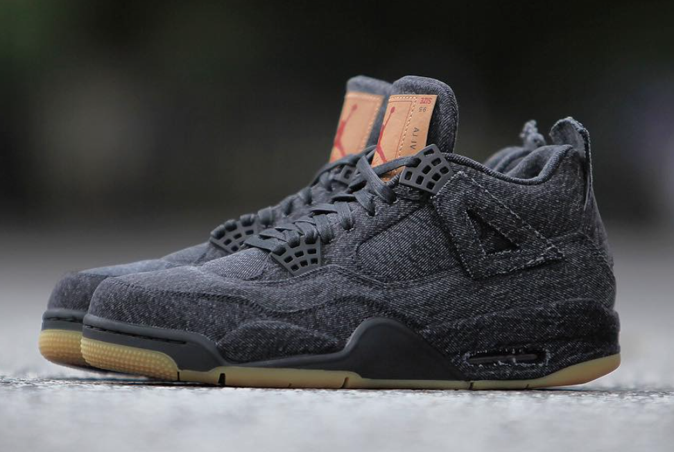 Black Levis Air Jordan 4 Release Date Price