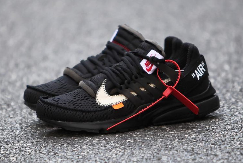 Black Off-White Nike Presto