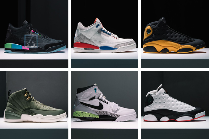 Jordan Brand Fall 2018 Collection Release Dates