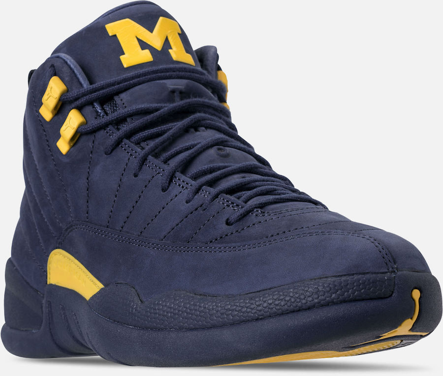 Michigan Air Jordan 12 Retro BQ3180-407 Release Date