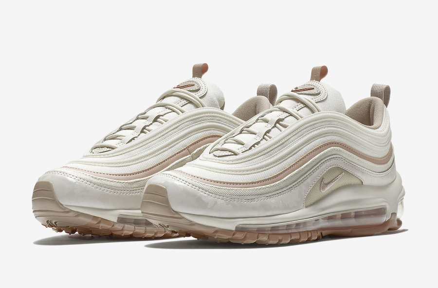 Nike Air Max 97 Premium Light Bone 917646 004 Sneaker Bar
