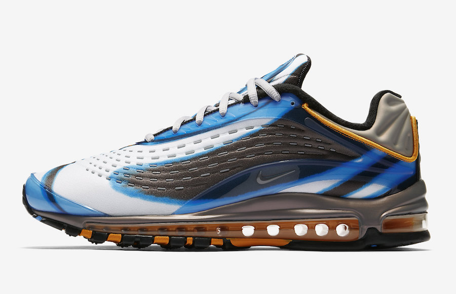 new product c56d8 304c7 Nike Air Max Deluxe Photo Blue Orange Peel AJ7831-401 Release Date ...