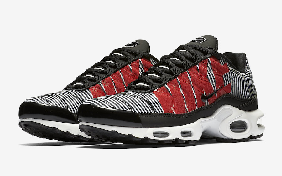 Details about NIKE AIR MAX PLUS TN SE AT0040 002 BlackTour YellowTotal Orange SIZE 11