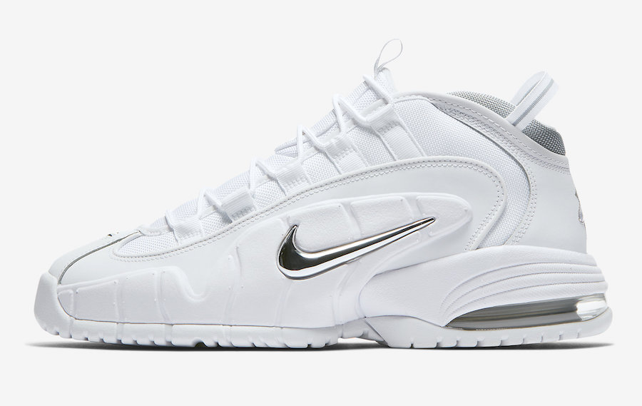 Nike Air Penny White Metallic 685153-100 Release Date Price