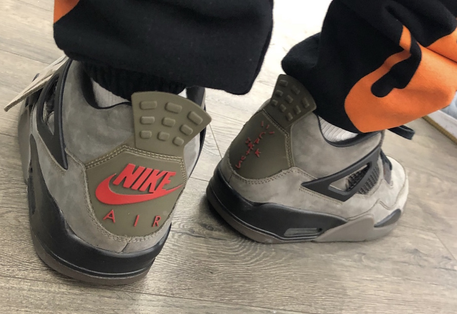 Travis Scott Air Jordan 4 Olive Release Date - Sneaker Bar Detroit 2a3be9b56