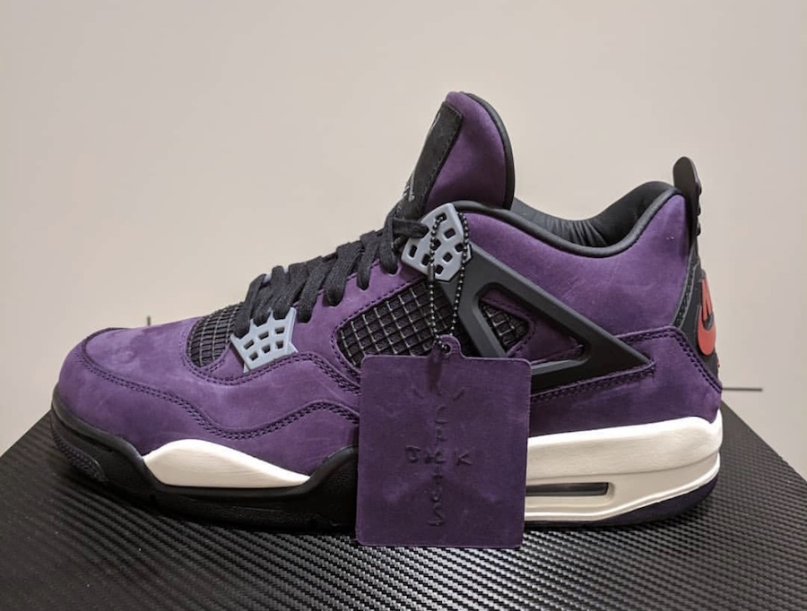 pretty nice b9297 08c11 Travis Scott Air Jordan 4 Purple - Sneaker Bar Detroit