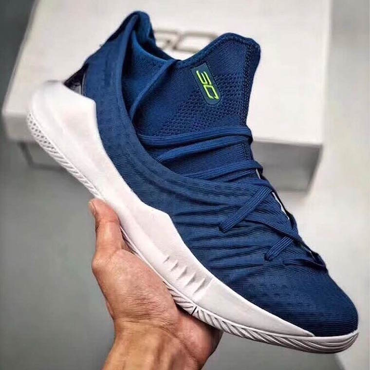 UA Curry 5 Navy Volt Release Date