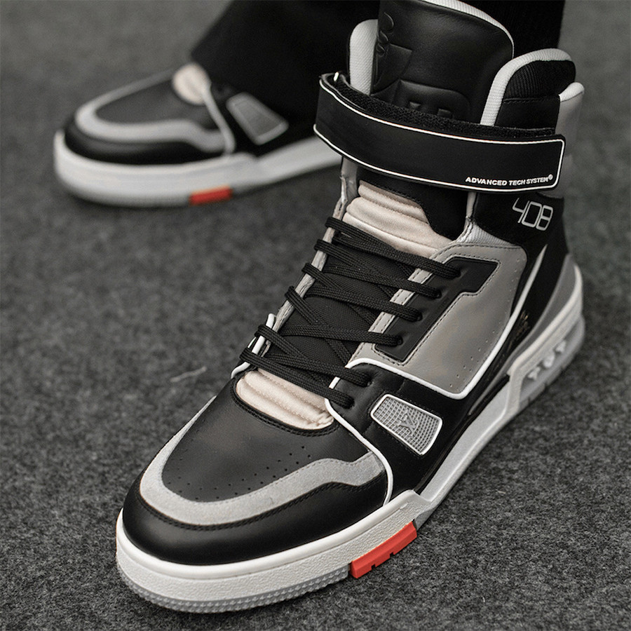 Virgil Abloh Louis Vuitton Sneaker Black Grey