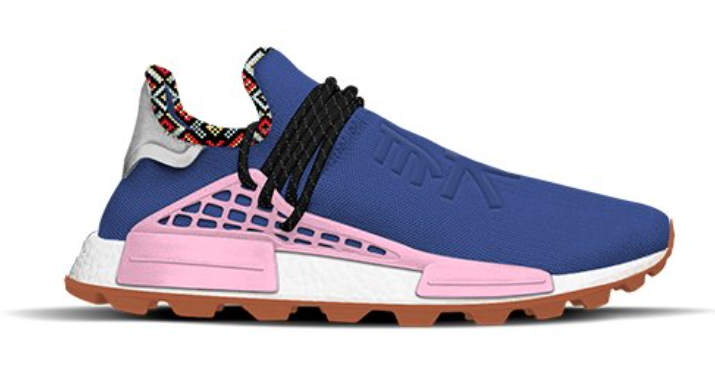 adidas NMD Hu Inspiration Pack Powder Blue Light Pink Orange EE7579