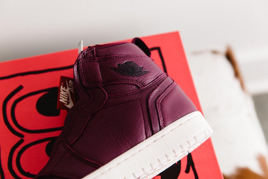 7f25c61023986a Air Jordan 1 High Zip Bordeaux AT0575-600 - Sneaker Bar Detroit