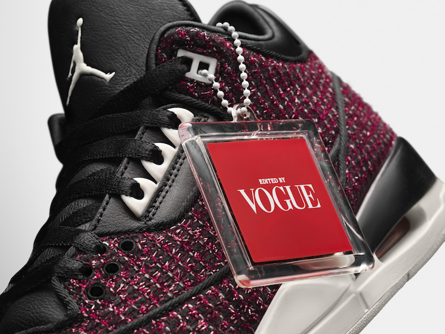 Vogue Air Jordan 3 AWOK University Red Release Date
