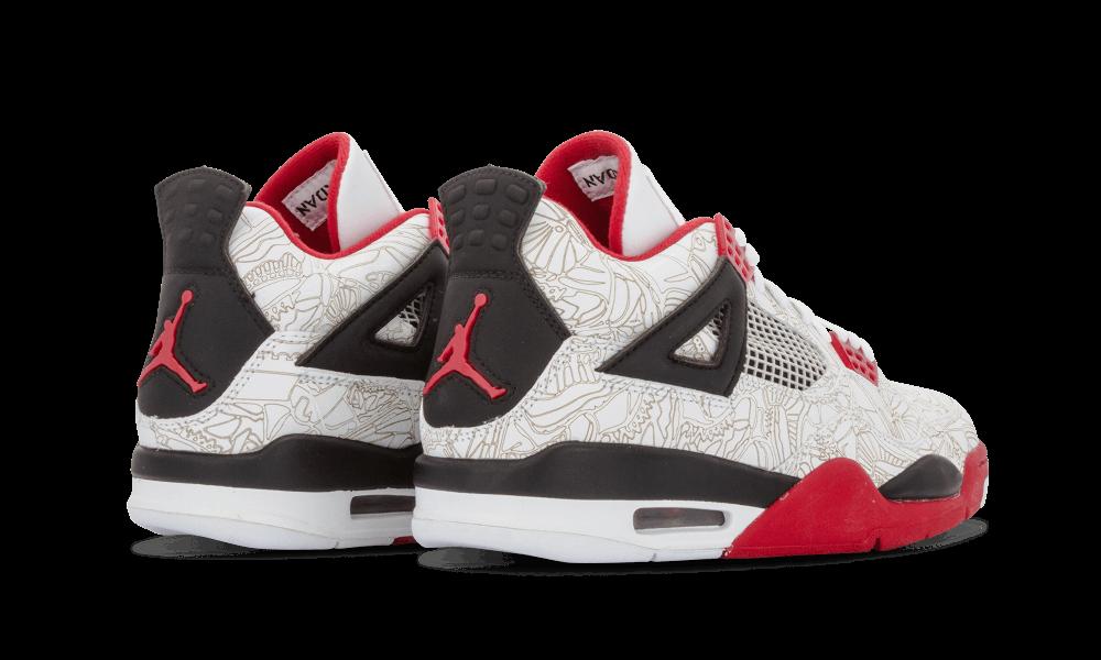 Air Jordan 4 White Laser