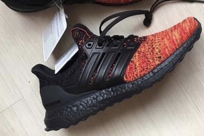 Game of Thrones adidas Ultra Boost House Targaryen Dragons First Look