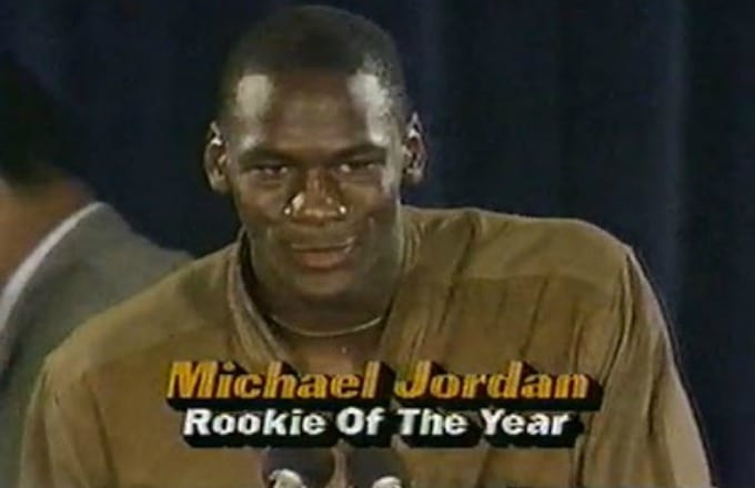 Michael Jordan Air Jordan 1 Rookie of the Year