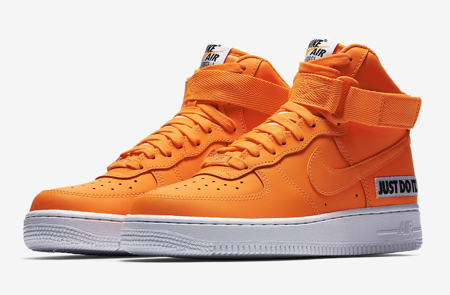 Nike Air Force 1 High Just Do It BQ7925-800 Release Date