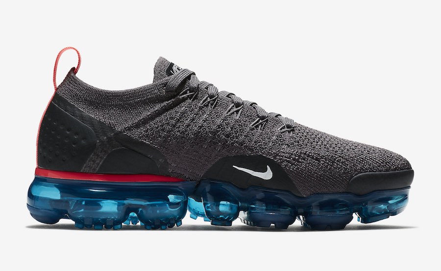 Nike Air VaporMax 2 Flyknit Thunder Grey 942843-009 Release Date