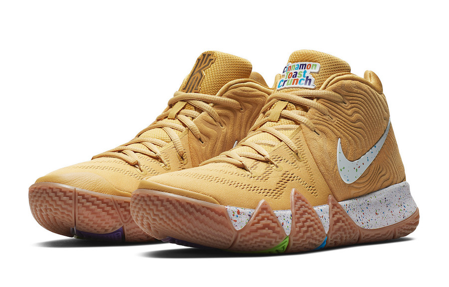 new styles a4d6a ca619 Nike Kyrie 4 Cinnamon Toast Crunch BV0426-900 Release Date - SBD