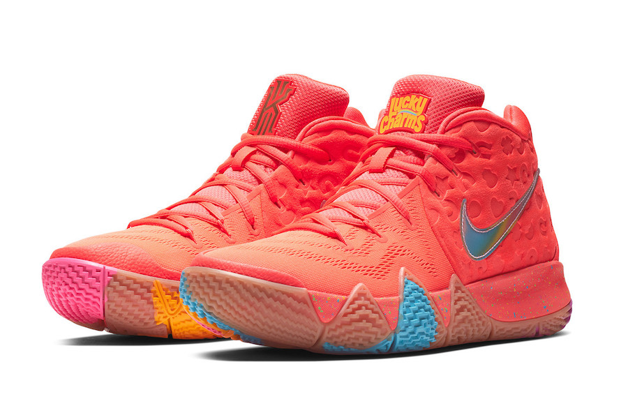 Nike Kyrie 4 Lucky Charms BV0426-900 Release Date Price
