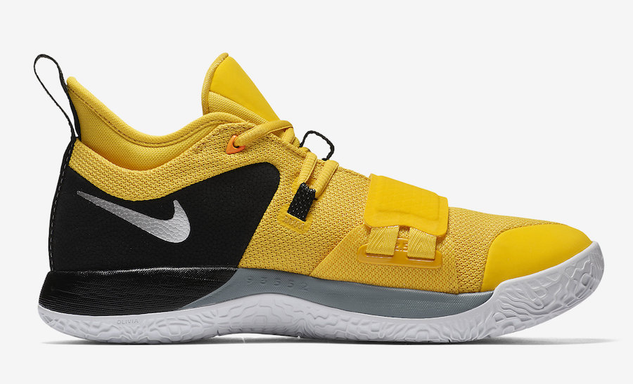 best website 2abba dafc8 Nike PG 2.5 Yellow Black BQ8452-700 Release Date - Sneaker ...