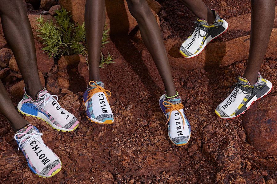 Pharrell Williams adidas SOLARHU Pack Release Date