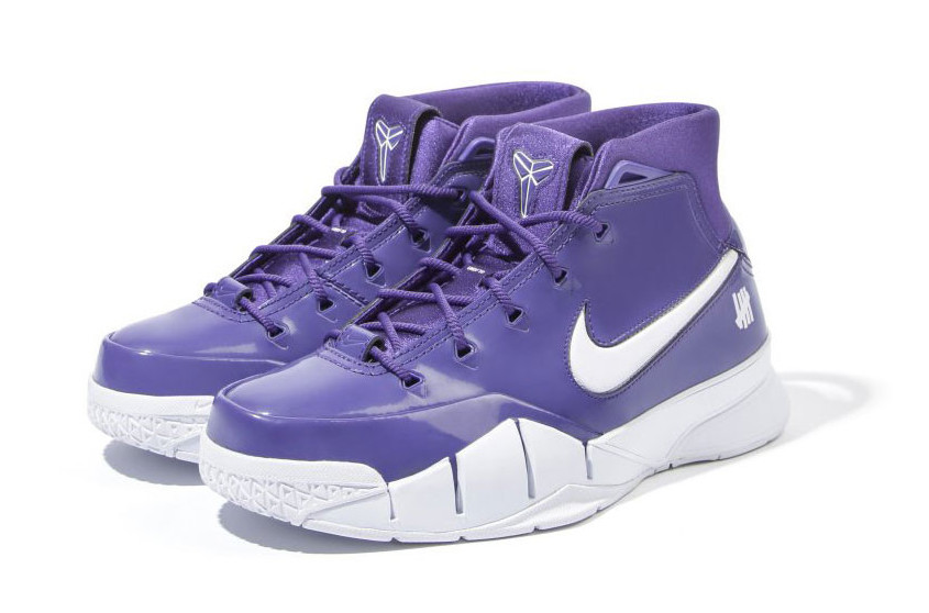 Undefeated x Nike Kobe Protro Purple