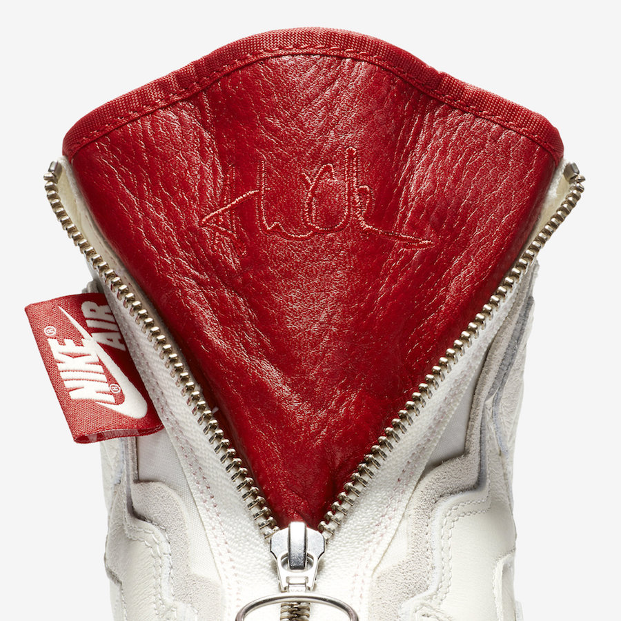 Vogue Air Jordan 1 High Zip AWOK Sail BQ0864-106 Release Date