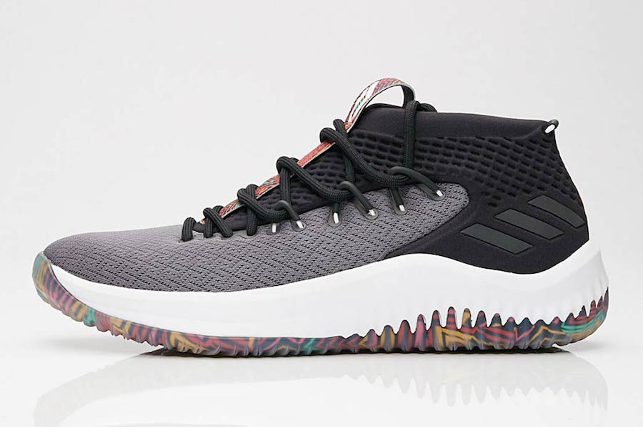 best sneakers 82aec d2154 adidas Dame 4 Tribal Print AQ0824