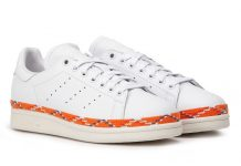 adidas Stan Smith New Bold White Orange