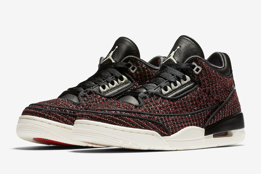 Air Jordan 3 AWOK University Red BQ3195-601 Release Date