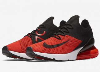 """huge discount a455b 76073 Nike Air Max 270 Flyknit """"Bred"""" Now Available"""