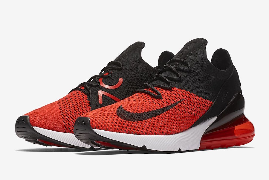 Nike Air Max 270 Flyknit Bred AO1023-601