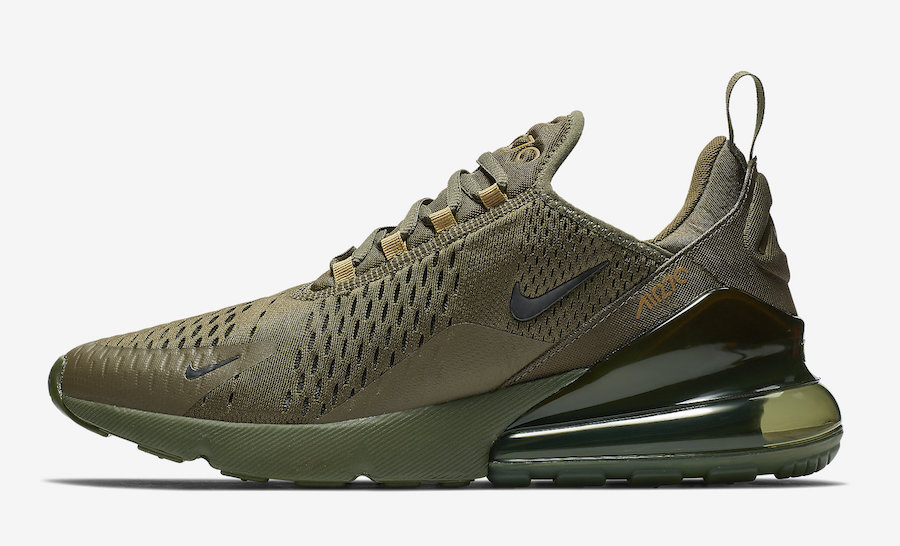 Nike Air Max 270 Olive AH8050-301 Release Date