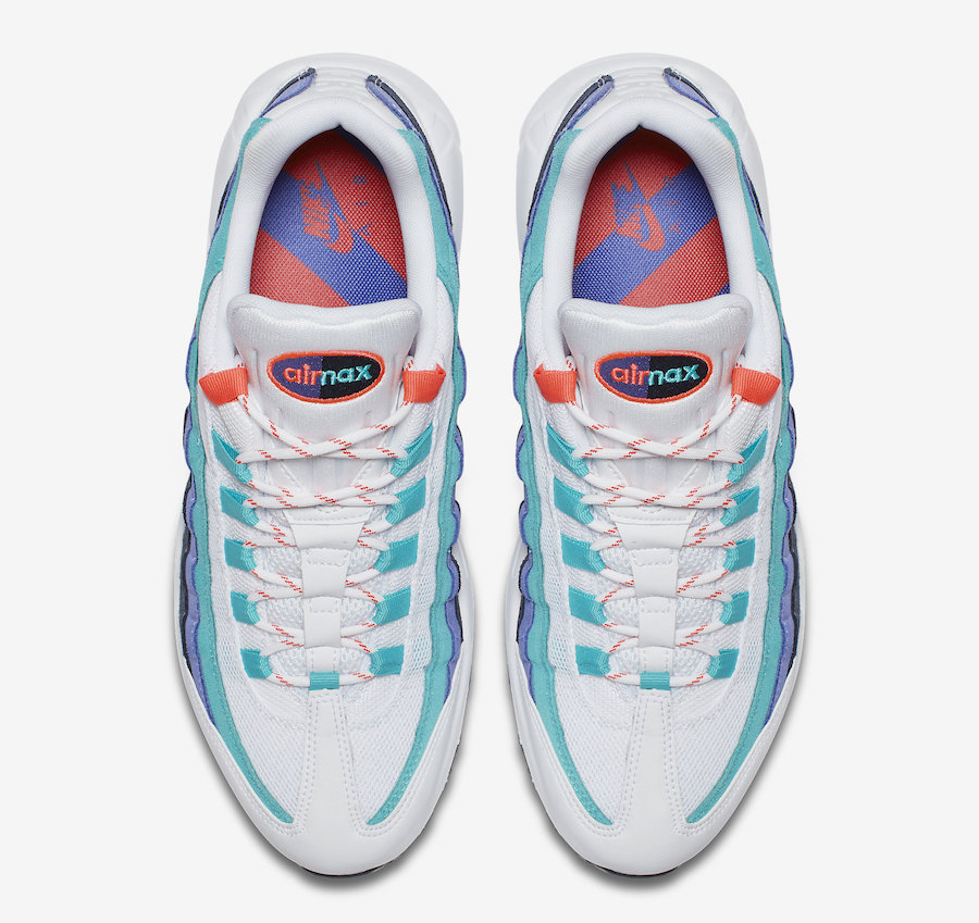 Nike Air Max 95 Hyper Jade Flash Crimson AV7939-100 Release Date