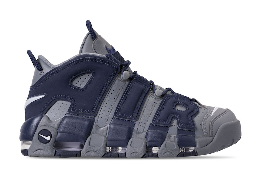 wholesale dealer 6d4d6 0e1a5 Nike Air More Uptempo Georgetown Hoyas Release Date