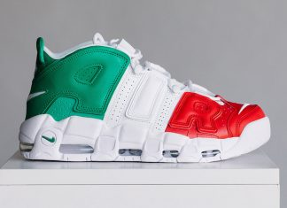 Nike Air More Uptempo Milan EU City Pack Release Date