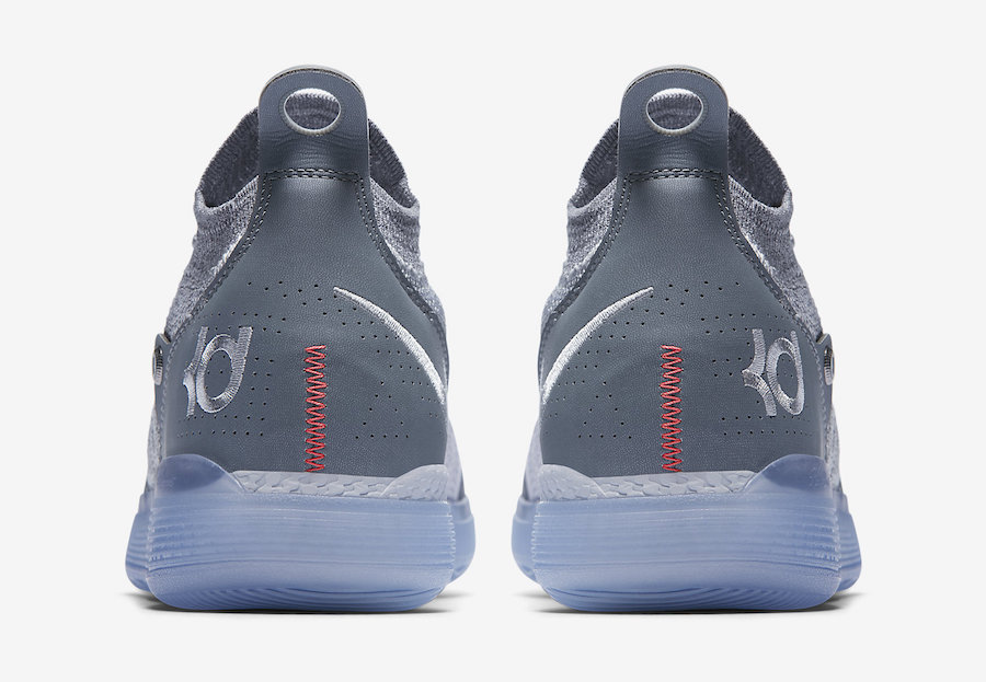 Nike KD 11 Cool Grey AO2604-002 Release Date Price