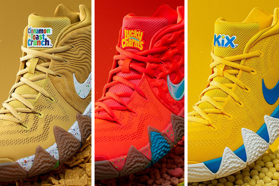 sports shoes 6f89b 359af Nike Kyrie 4 Cereal Pack Release Date - Sneaker Bar Detroit
