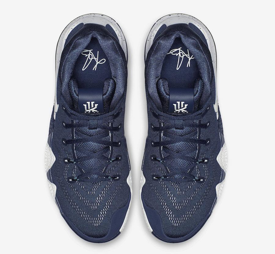 d26c1f1746e Nike Kyrie 4 College Navy 943806-402 Release Date - Sneaker Bar Detroit