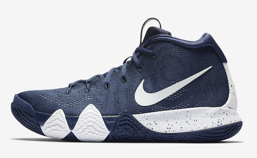 Nike Kyrie 4 College Navy 943806-402 Release Date