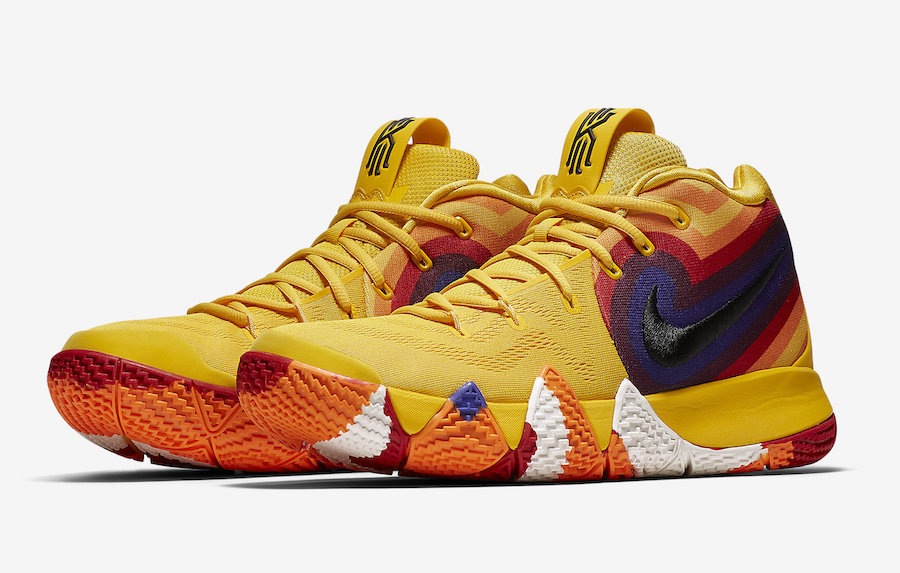 34b970da5605 Nike Kyrie 4 Yellow Multicolor Uncle Drew 943807-700 Release Date - SBD