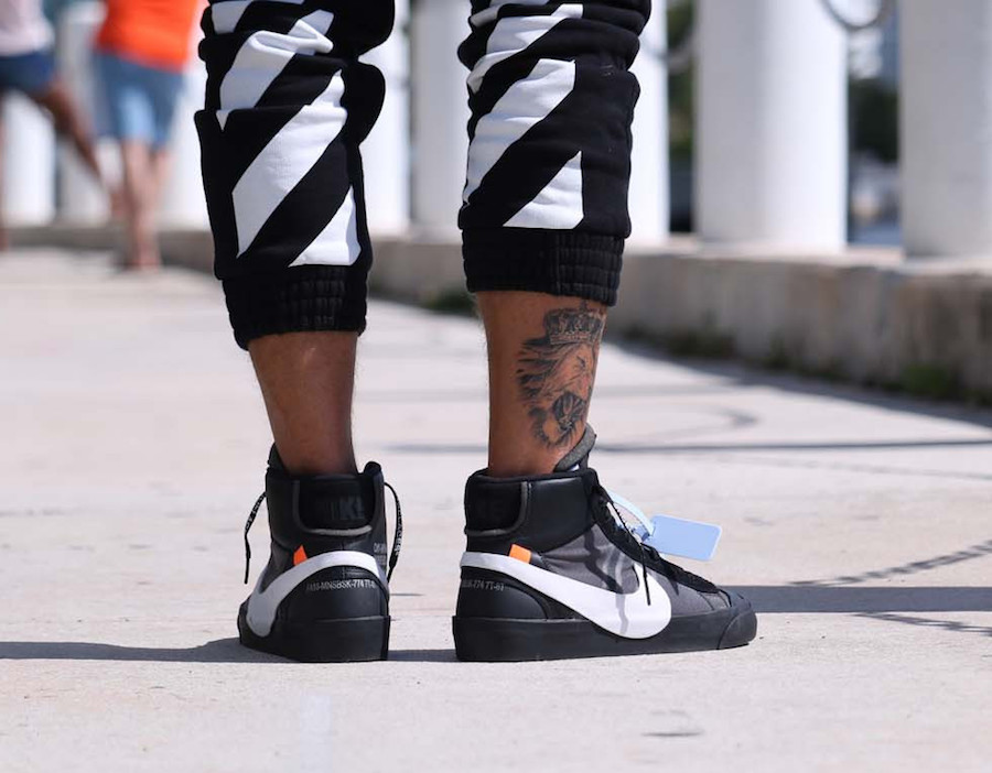 so cheap website for discount 50% off Off-White Nike Blazer Mid Grim Reaper AA3832-001 Release ...