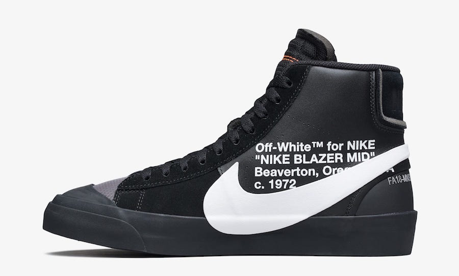 Off-White Nike Blazer Mid Grim Reapers AA3832-001 Release Date Price