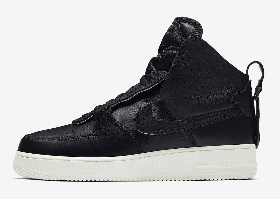 PSNY Nike Air Force 1 High Black AO9292-002 Release Date