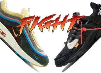 official photos a7f63 9d237 Better Release  Sean Wotherspoon s Air Max 1 97 or Virgil s Off-White Presto