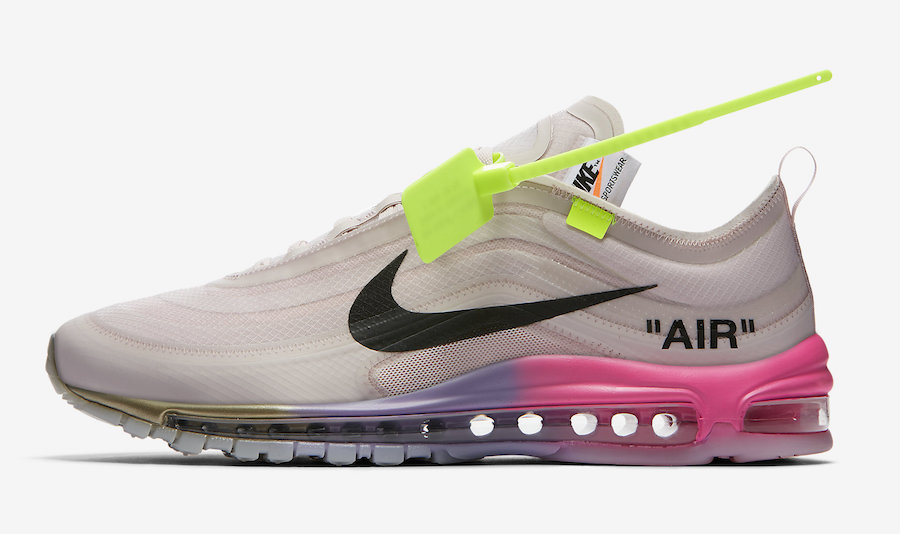 Serena Williams Off-White x Nike Air Max 97 Queen AJ4585-600 Release Date