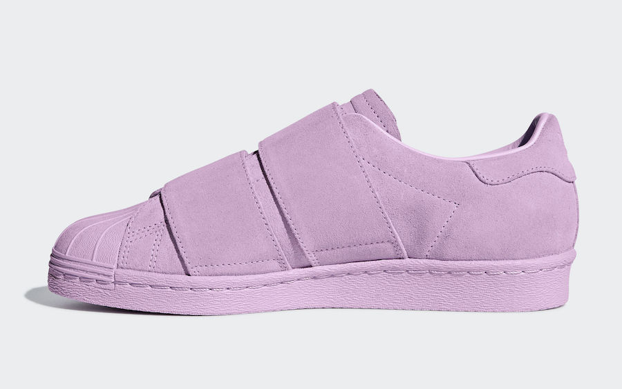 adidas Superstar 80s CF Clear Lilac B28043 Release Date