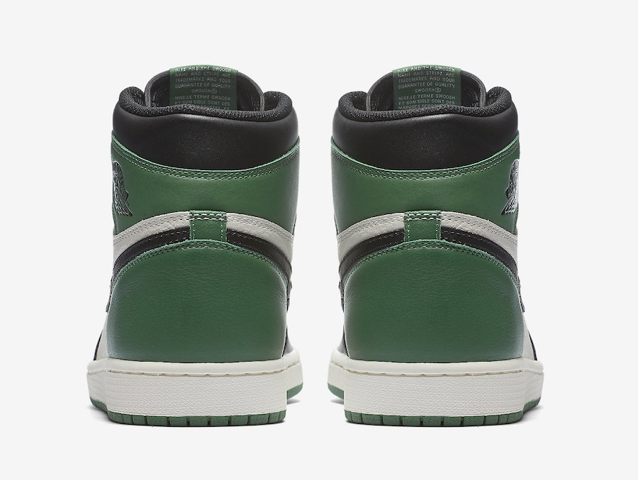 Air Jordan 1 Pine Green 555088-302 Release Date Price